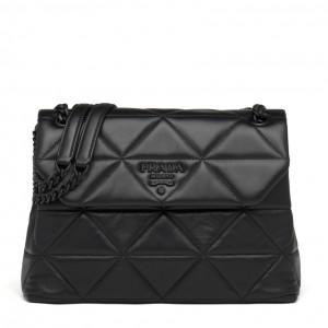 Prada Large Spectrum Bag In Black Nappa Leather