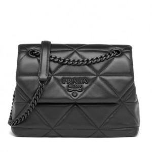 Prada Small Spectrum Bag In Black Nappa Leather