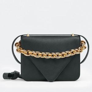 Bottega Veneta Mount Small Bag In Black Leather