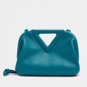 Bottega Veneta Small Point Top Handle Bag In Mallard Nappa Leather