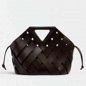 Bottega Veneta Medium Point Bag In Fondant Intrecciato Leather