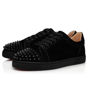 Christian Louboutin Women's Vieira Spikes Flat Sneakers