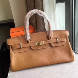 Hermes Brown JPG Birkin 42cm Shoulder Bag