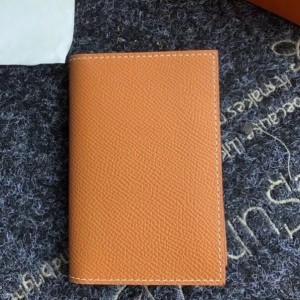 Hermes MC² Euclide Card Holder In Gold Epsom Leather