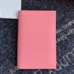 Hermes MC² Euclide Card Holder In Pink Epsom Leather