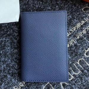 Hermes MC² Euclide Card Holder In Sapphire Epsom Leather