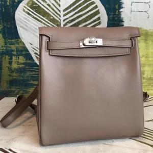 Hermes Etain Swift Kelly Ado PM Backpack