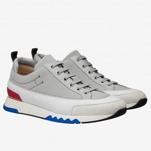 Hermes Grey Rapid Sneakers