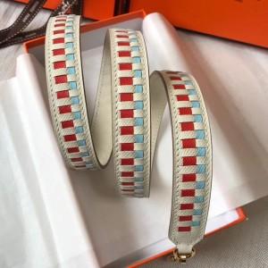 Hermes Beton Tressage Cuir 25MM Bag Strap