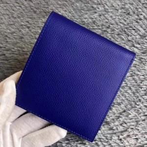 Hermes Blue Electric MC² Copernic Compact Wallet