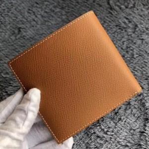 Hermes Brown MC² Copernic Compact Wallet
