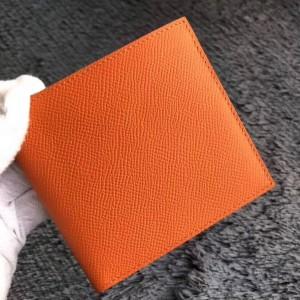 Hermes Orange MC² Copernic Compact Wallet
