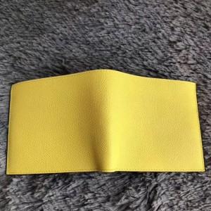 Hermes Yellow MC² Copernic Compact Wallet