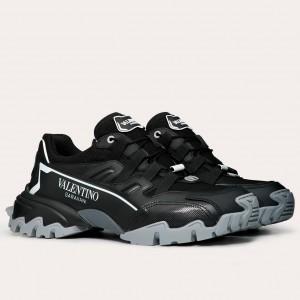 Valentino Garavani Men's Black Climbers Sneakers