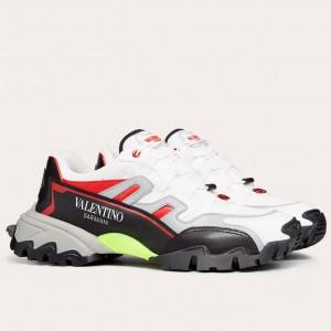 Valentino Men's Black/White Climbers Sneakers