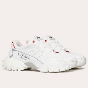 Valentino Men's White Climbers Sneakers