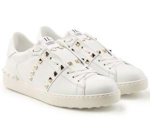 Valentino White Rockstud Untitled Sneaker
