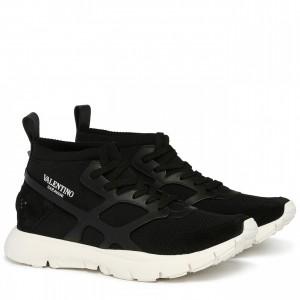 Valentino Garavani Black Sound High Sneakers