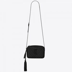 Saint Laurent Lou Camera All Black Bag