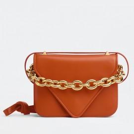 Bottega Veneta Mount Small Bag In Maple Calfskin