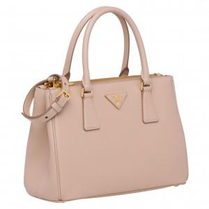 Prada Galleria Small Bag In Powder Pink Saffiano Leather