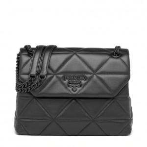 Prada Medium Spectrum Bag In Black Nappa Leather