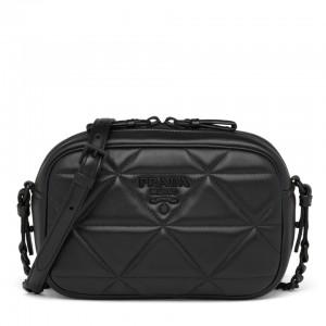 Prada Spectrum Camera Bag In Black Nappa Leather
