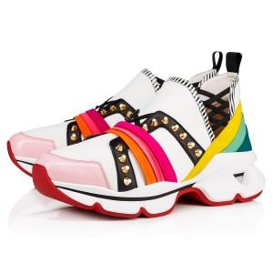 Christian Louboutin Women's Multicolour 123 Run Sneakers