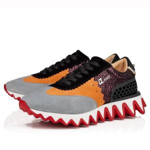 Christian Louboutin Women's Multicolour Loubishark Sneakers