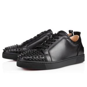 Christian Louboutin Women's Louis Junior Spikes Sneakers