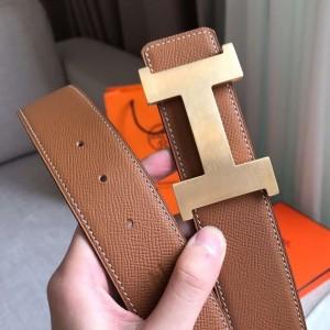 Hermes Constance 2 Belt Buckle & Gold Epsom 42MM Strap