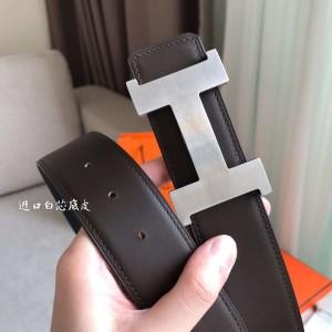 Hermes Constance 2 Belt Buckle & Black Epsom 42MM Strap