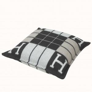 Hermes Black Small Avalon III Pillow