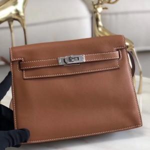 Hermes Gold Swift Kelly Danse Bag