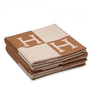 Hermes Camarel Avalon Blanket