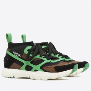 Valentino Garavani Green Sound High Sneakers