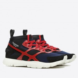 Valentino Garavani Red Sound High Sneakers