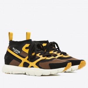 Valentino Garavani Yellow Sound High Sneakers
