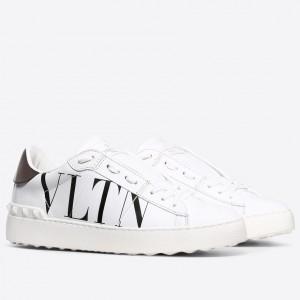 Valentino Garavani White VLTN Open Sneakers