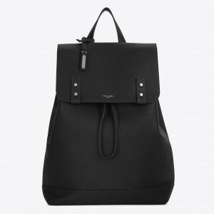 Saint Laurent Black Sac De Jour Souple Backpack