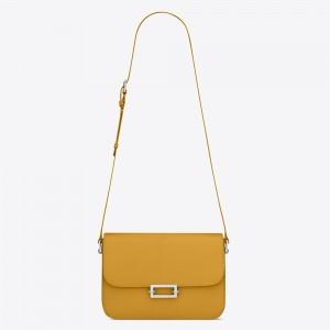 Saint Laurent Le Pave Bag In Saffron Calfskin